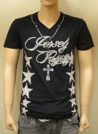 'Rosary Bead' V-Neck